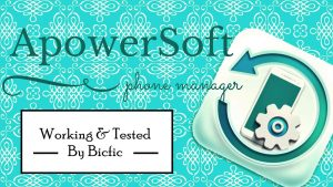 ApowerSoft ApowerManager Crack 3.2.9.1 + Download 2021